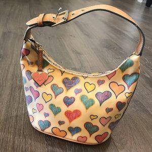 Dooney & Bourke mini heart slouch bag